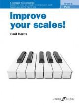 Omslag - Improve your scales! Piano Grade 1