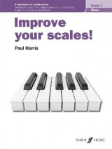 Omslag - Improve your scales! Piano Grade 4