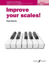 Omslag - Improve your scales! Piano Grade 5