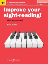 Omslag - Improve your sight-reading! Piano Initial Grade