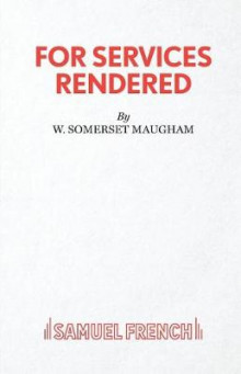 For Services Rendered av W Somerset Maugham (Heftet)