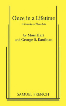 Once in a Lifetime av Moss Hart og George S Kaufman (Heftet)