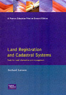 Land Registration and Cadastral Systems av Gerhard Larsson (Heftet)