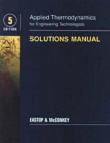 Omslag - Applied Thermodynamics for Engineering Technologists: Student Solutions Manual