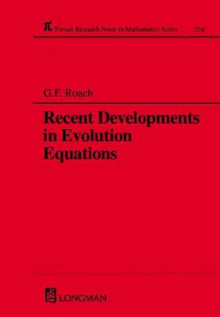 Recent Developments in Evolution Equations av G. F. Roach og A. C. McBride (Innbundet)