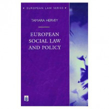 European Social Law and Policy av Tamara K. Hervey (Heftet)