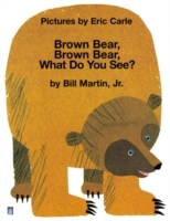 Brown Bear, Brown Bear , What Do You See? av Eric Carle (Heftet)