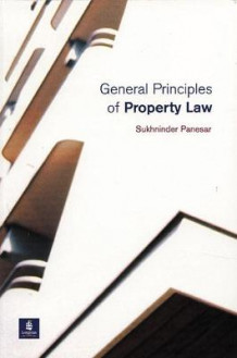 General Principles of Property Law av Sukhninder Panesar (Heftet)
