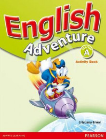 English Adventure: Starter A Activity Book av Cristiana Bruni (Heftet)