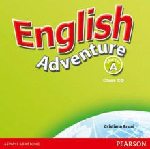 English Adventure Starter A: Class CD av Cristiana Bruni (Lydbok-CD)