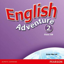 English Adventure Level 2: Class CD av Anne Worrall (Lydbok-CD)
