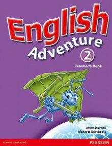 English Adventure: Teacher's Book Level 2 av Anne Worrall og Richard Northcott (Spiral)