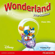 Wonderland Pre-junior Class CD av Cristiana Bruni (Lydbok-CD)