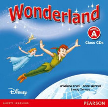 Wonderland: Junior A av Cristiana Bruni, Sandy Zervas og Anne Worrall (Lydbok-CD)