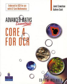 A Level Maths Essentials Core 4 for OCR av Janet Crawshaw og Kathryn Scott (Blandet mediaprodukt)
