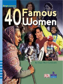 Four Corners: 40 Famous Women av Diane Hoyt-Goldsmith (Heftet)