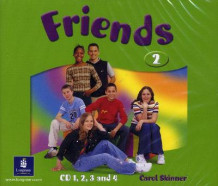 Friends 2 (global) Class CD4: Class CD4 av Liz Kilbey (Lydbok-CD)