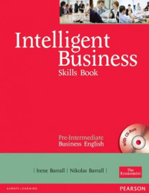 Intelligent Business Pre-Intermediate Skills Book and CD-ROM Pack av Irene Barrall og Christine Johnson (Blandet mediaprodukt)