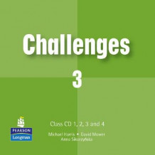 Challenges: Clas CD 1-3 av Michael Harris, David Mower og Anna Sikorzynska (Lydbok-CD)
