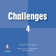 Challenges: Class CD 1-3 Level 4 av Michael Harris, Anna Sikorzynska og David Mower (Lydbok-CD)