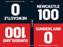 100-0: Sunderland-Newcastle/Newcastle-Sunderland av Tim Glynne-Jones og Will Brooks (Innbundet)
