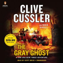 The Gray Ghost av Clive Cussler og Robin Burcell (Lydbok-CD)