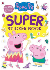 Peppa Pig Super Sticker Book (Peppa Pig) av Golden Books (Heftet)