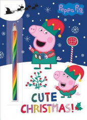 Cute Christmas! (Peppa Pig) av Golden Books (Heftet)