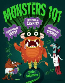 Monsters 101 av Cale Atkinson (Innbundet)