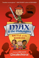 Omslag - Max and the Midknights: Battle of the Bodkins