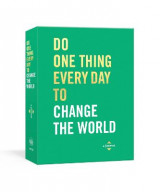 Omslag - Do One Thing Every Day to Change the World
