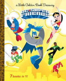 DC Super Friends Little Golden Book Treasury (DC Super Friends) av Golden Books (Innbundet)