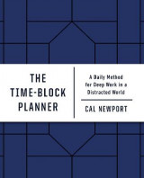 Omslag - The Time-Block Planner