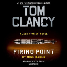 Tom Clancy Firing Point av Mike Maden (Lydbok-CD)