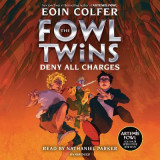 Omslag - The Fowl Twins, Book Two: Deny All Charges