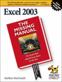 Excel 2003 the Missing Manual av Matthew MacDonald (Heftet)