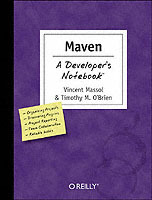 Maven a Developer's Notebook av Vincent Massol og Timothy M. O'Brien (Heftet)