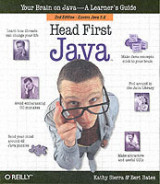 Omslag - Head First Java