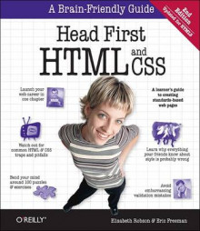 Head First HTML and CSS av Elisabeth Robson og Eric Freeman (Heftet)