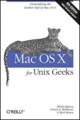 Omslag - Mac OS X for Unix Geeks