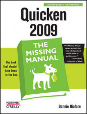 Quicken 2009: The Missing Manual av Bonnie Biafore (Heftet)