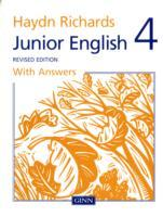 Haydn Richards Junior English Book 4 with Answers (Revised Edition) av Angela Burt (Heftet)