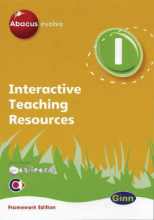 Abacus Evolve Interactive: Year 1 Teaching Resource Framework Edition Version 1.1 av Ruth Merttens, Lucy Roberts og Dave Kirkby (CD-ROM)