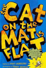 Omslag - The Cat on the Mat is Flat