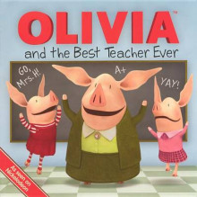 Olivia and the Best Teacher Ever av Ilanit Oliver (Innbundet)