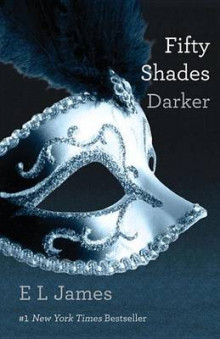 Fifty Shades Darker av E L James (Innbundet)