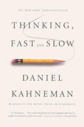Thinking, Fast and Slow av Daniel Kahneman (Innbundet)