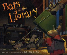 Bats at the Library av Brian Lies (Innbundet)