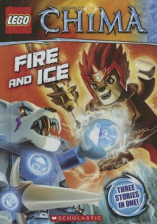Fire and Ice av Greg Farshtey (Innbundet)