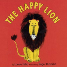 The Happy Lion av Louise Fatio (Innbundet)